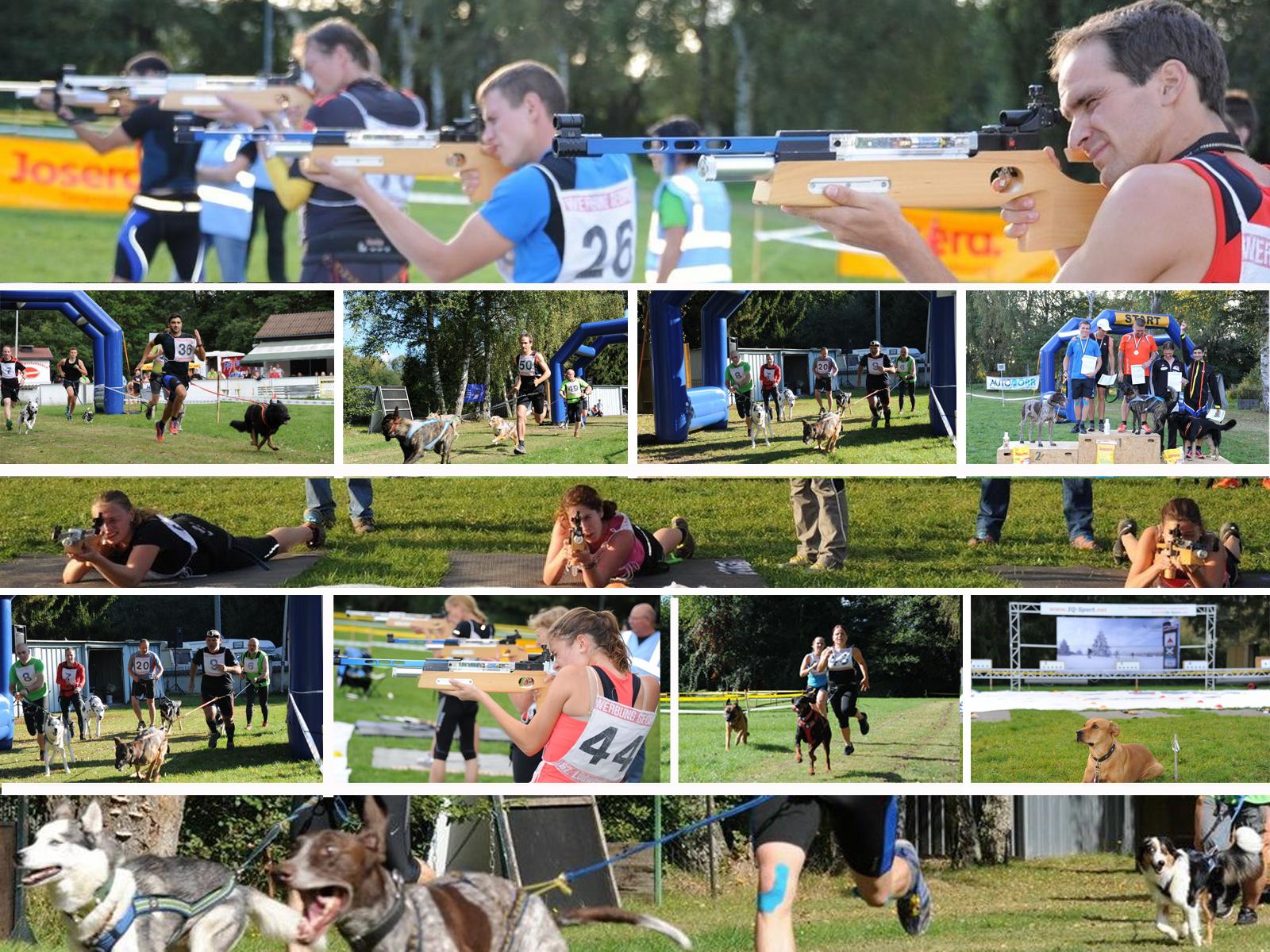 Dog-Biathlon: Weltpremiere Biathlon im Zughundesport