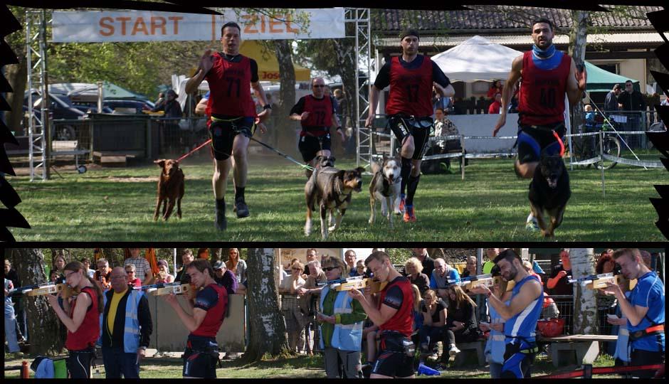 Dog-Biathlon in Hockenheim, 18./19. April 2015, Wettkampfbericht