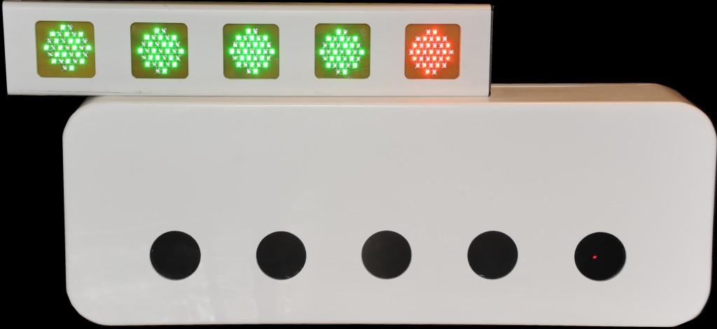 Biathlon-Ziel-Lampe