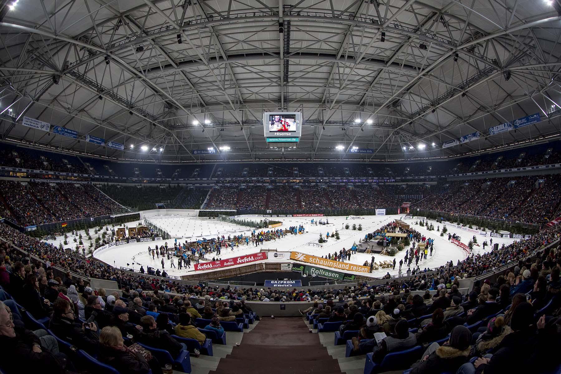 VELTINS-Arena, Biathlon WTC, 27.12.2014
