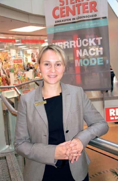 Centermanagerin Franziska Gubik