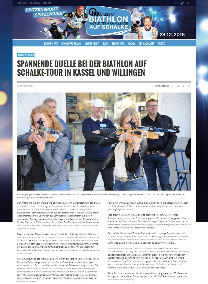 Bericht biathlon-aufschalke.de