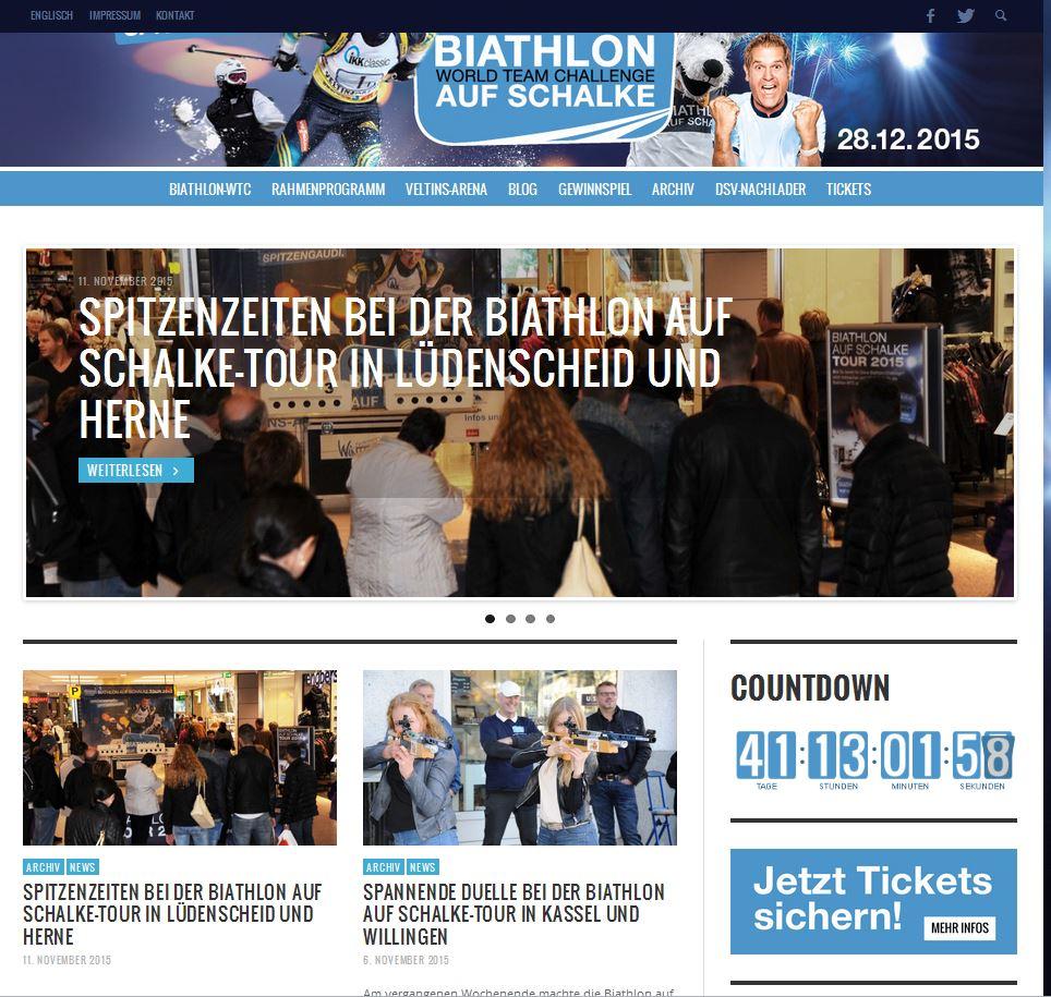 biathlon-aufschalke.de homepage