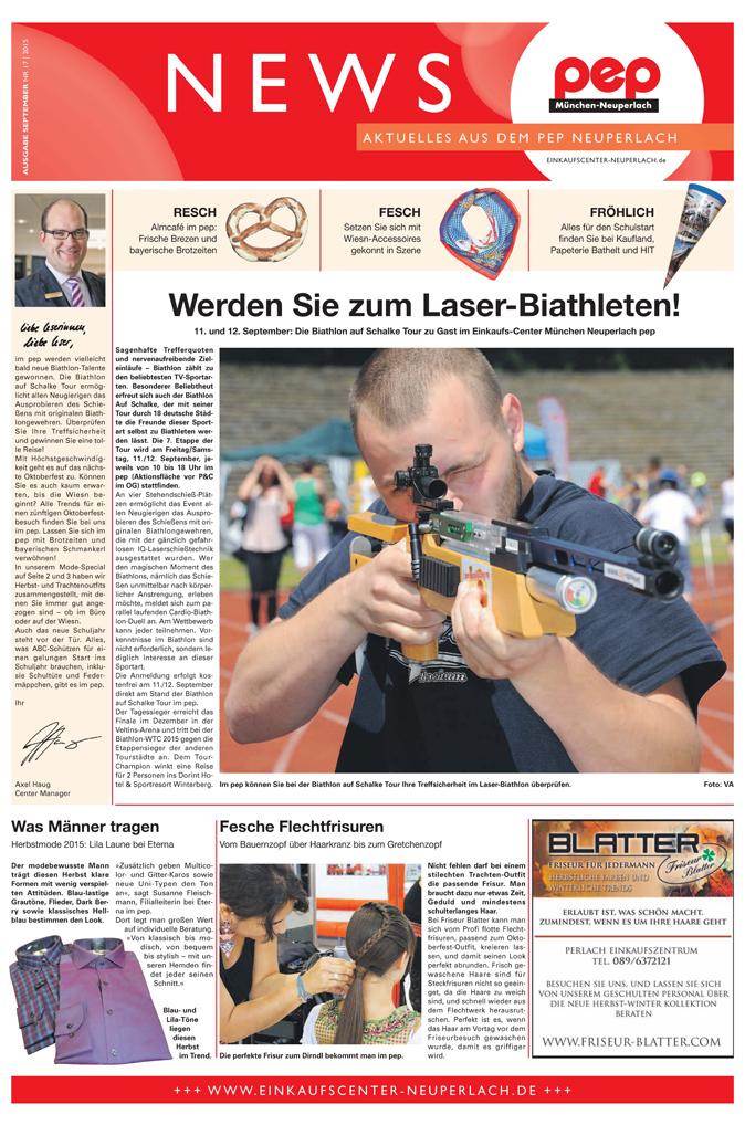 pep-Center-Zeitung