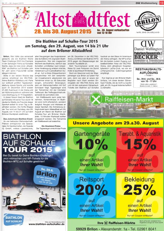 Wochenzeitung