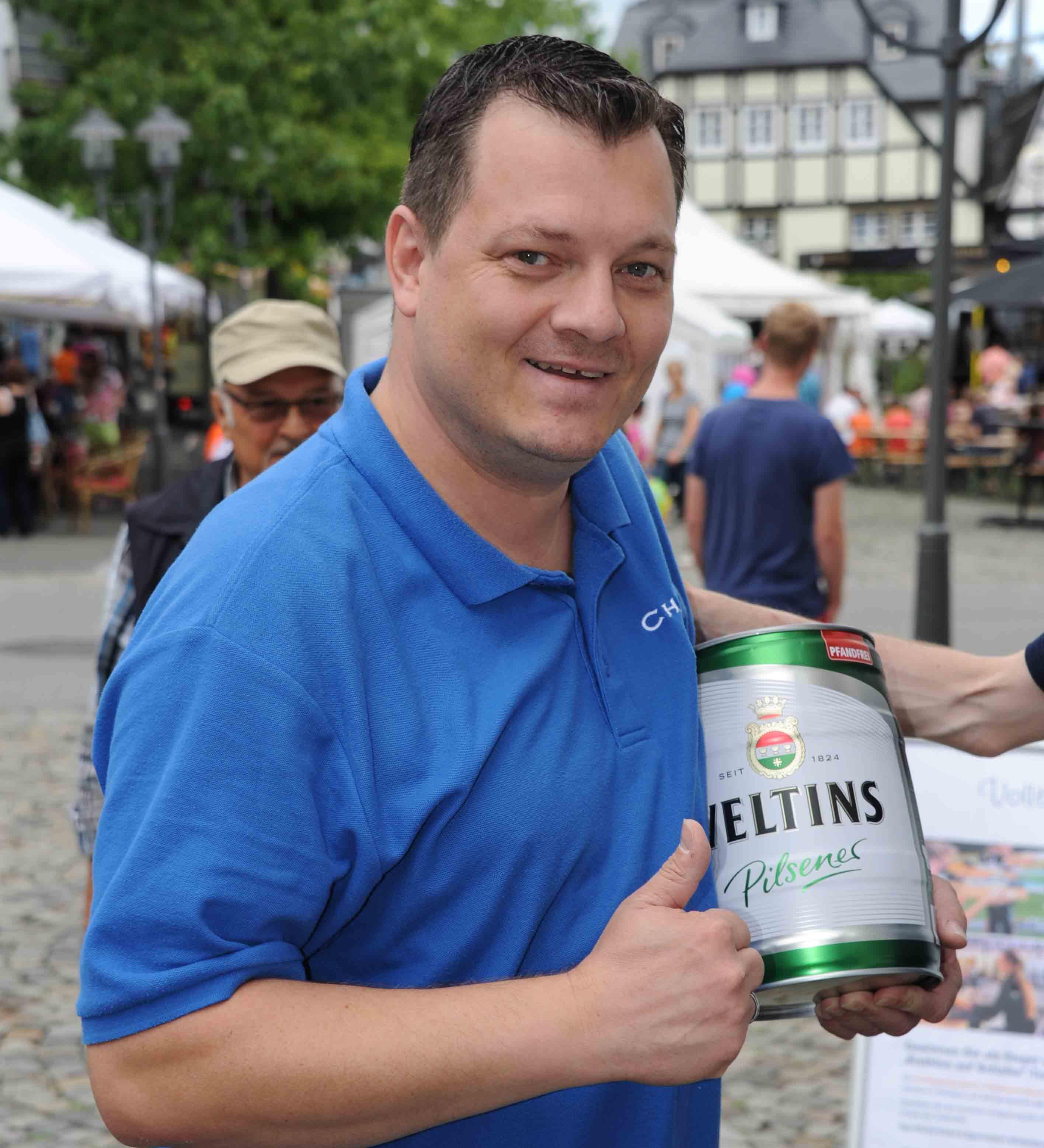 Christian Müller: Etappensieger und führender in der Tourwertung nach 5 Etappen