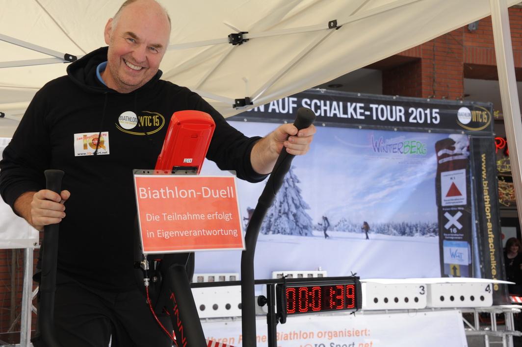 Klaus Kremer, Entwickler der IQ-Laserschießtechnik, wird in Brilon vor Ort sein und den Teilnehmern Tipps geben.