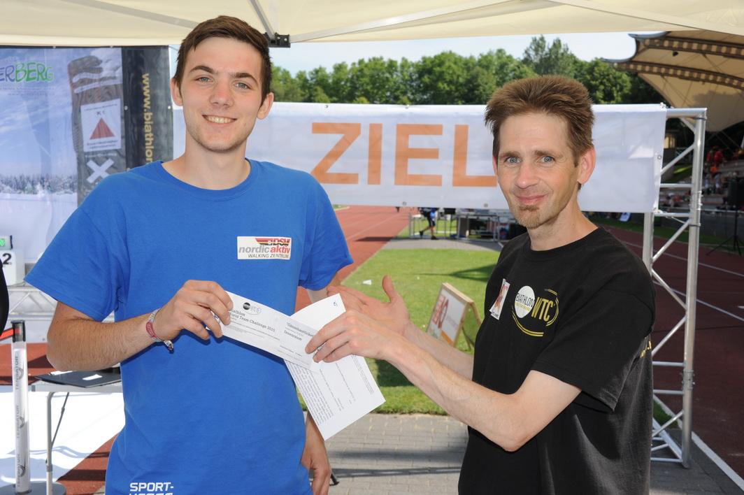 Welcher Briloner folgt dem Sieger der 4. Etappe, Julian Puderbach, ins Finale am 28.12.?