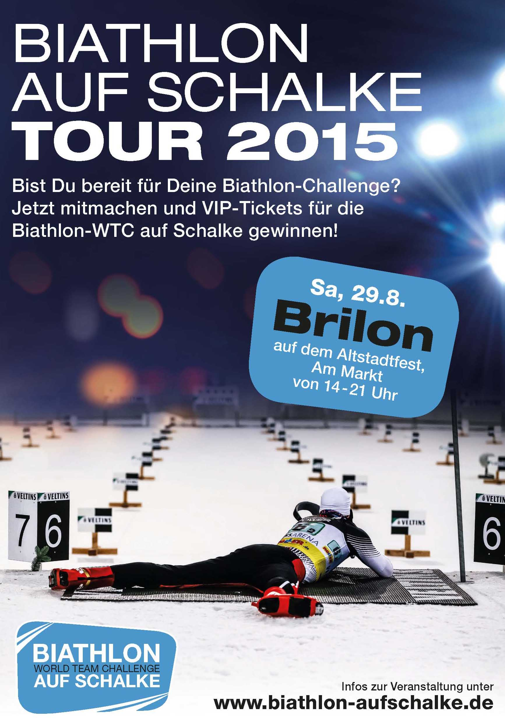 vorbericht zur 5 etappe der biathlon auf schalke tour biathlon. Black Bedroom Furniture Sets. Home Design Ideas
