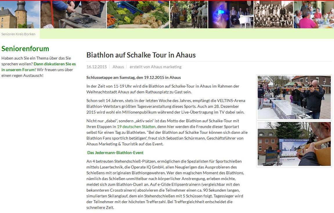 Biathlonevent Ahaus