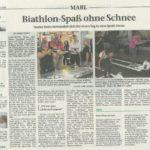 Marler Zeitung Nachbericht