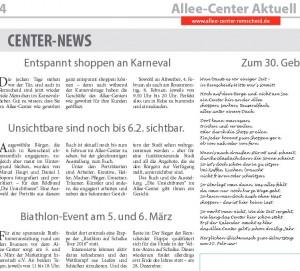 Alleecenter-Zeitung