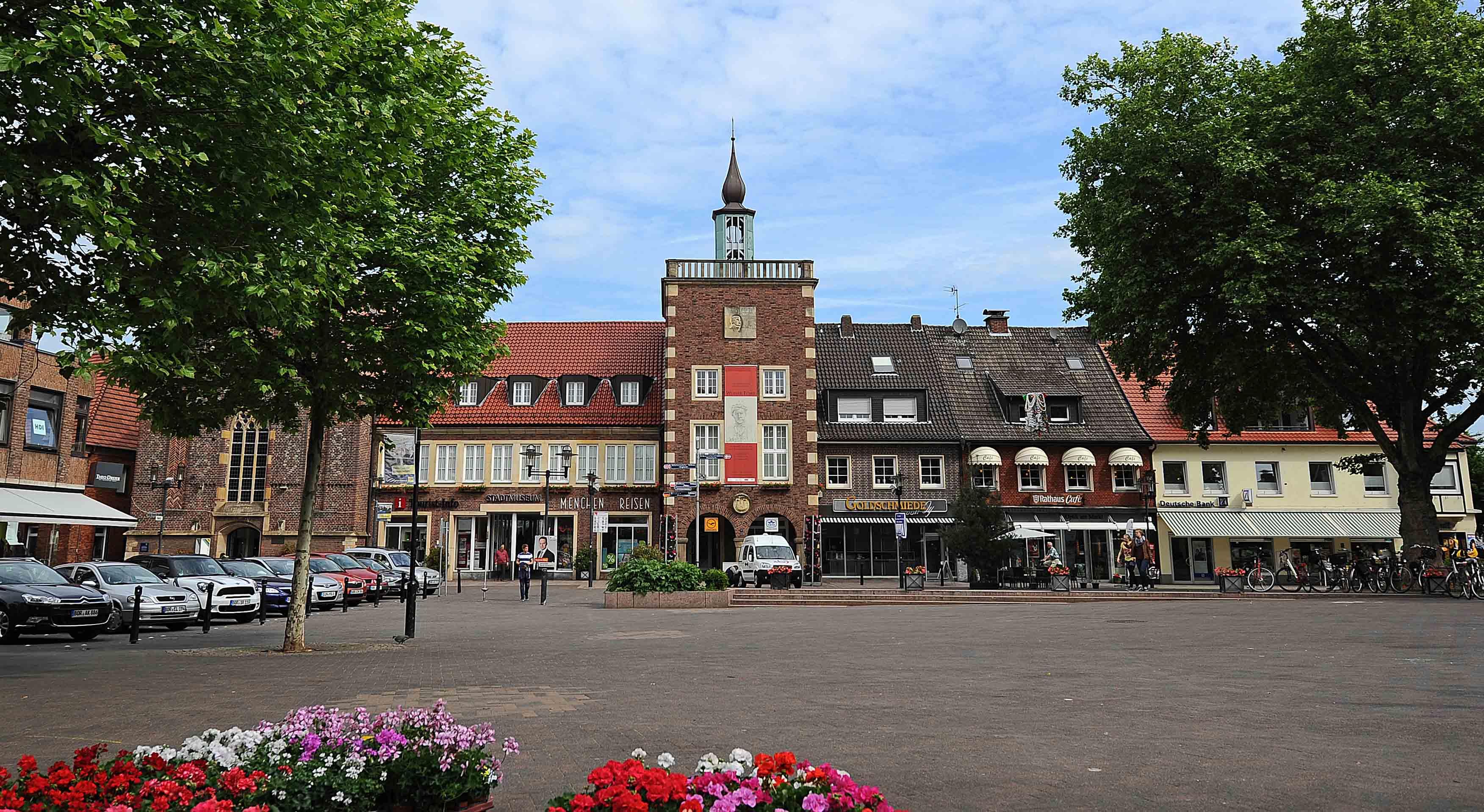 Marktplatz in Borken