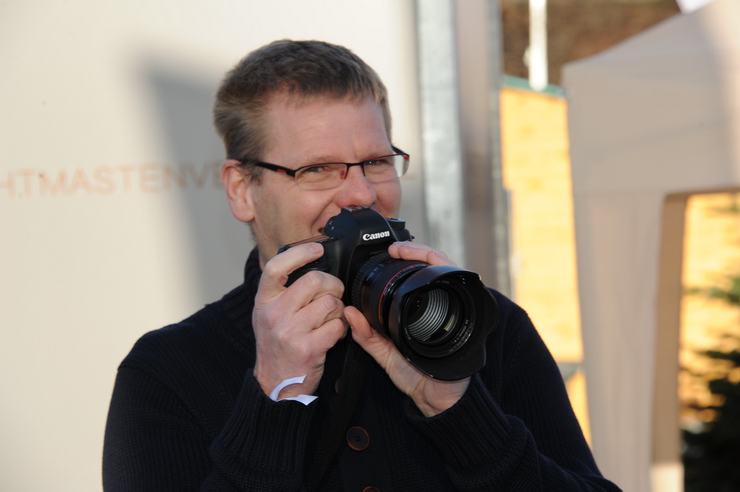 Ulf Quooß machte hunderte eigener Bilder vom Tourfinale und vom Gänsehauterlebnis
