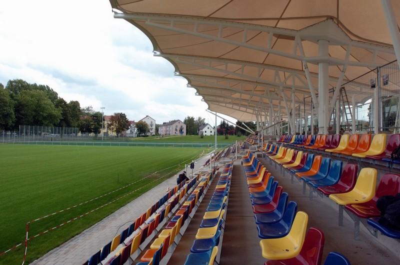 Das Stadion in Gersthofen