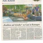 Rheinzeitung Nachbericht