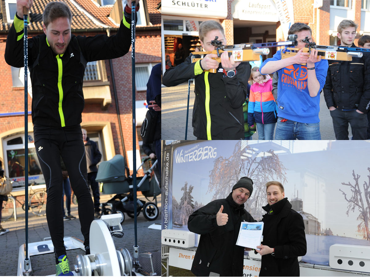 Biathlon Jens Seggewiß