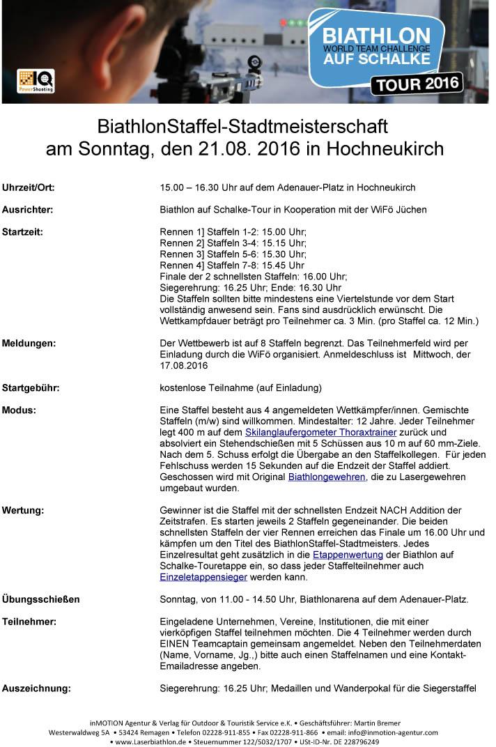 Allgemeine Info Start: