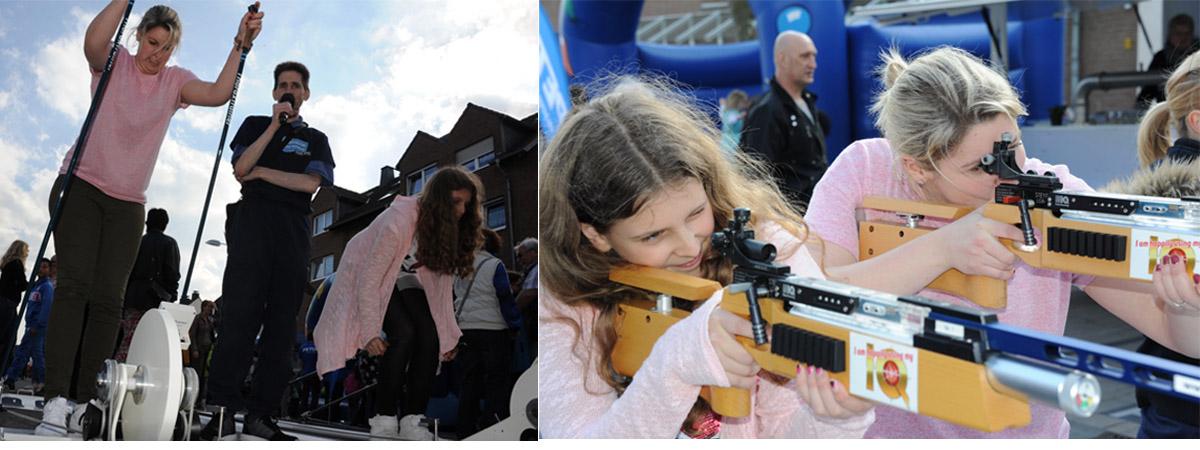 Polizei Biathlon