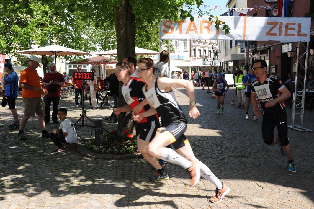 Souveräner Biathlon Rheinlandmeister wird der starke Langstreckenläufer Robert Schütz von der LG Kreis Ahrweiler (137).