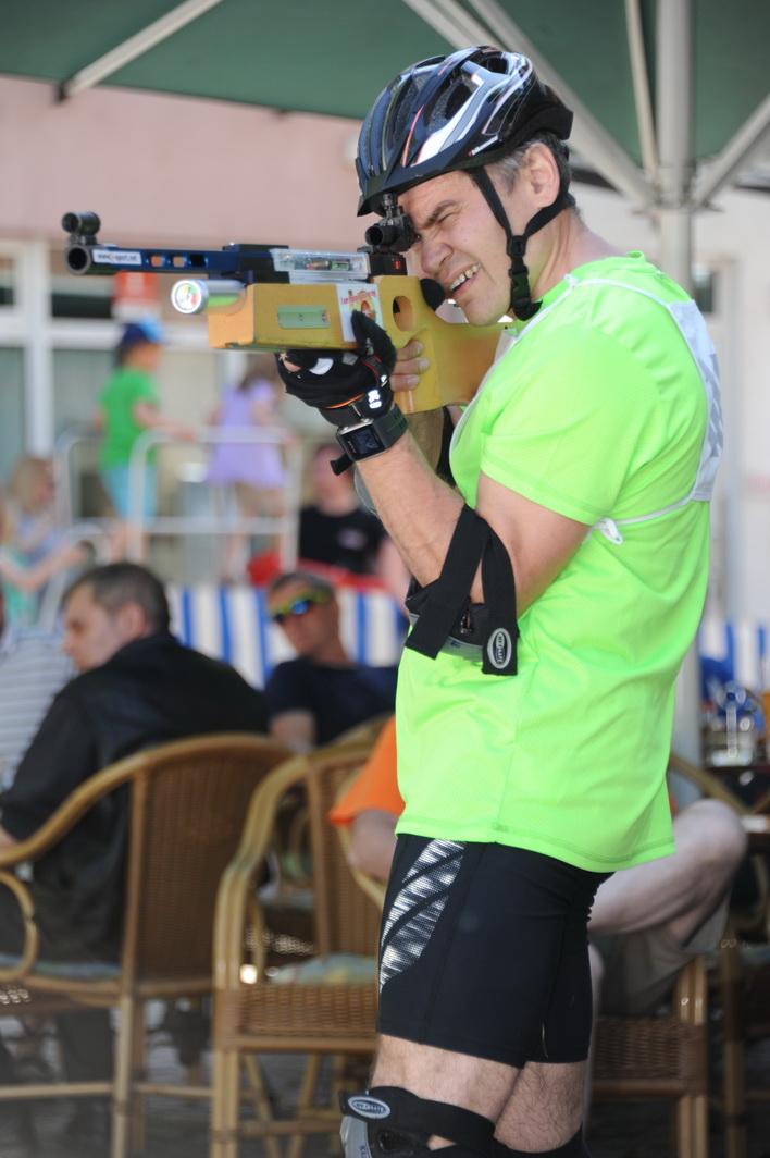 Nicht zu schlagen ist an diesem Tag Viktor Koch Dem Bronzemedaillengewinner des Lemming Loppet Skimarathon beim Skaten zuzuschauen macht Freude, denn er beherrscht die Technik wie aus dem Lehrbuch.