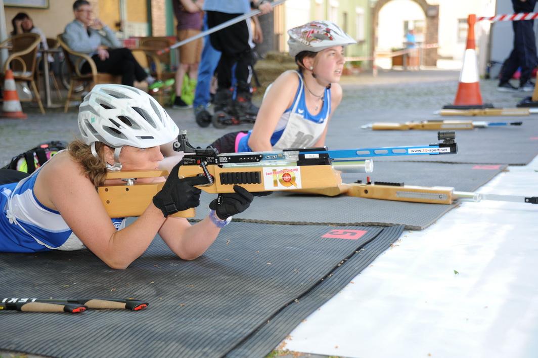 Ebenfalls in diesem Rennen sind Katja Kranz-Noll und ihre Tochter Danica aus Bad Marienberg (Westerwald).