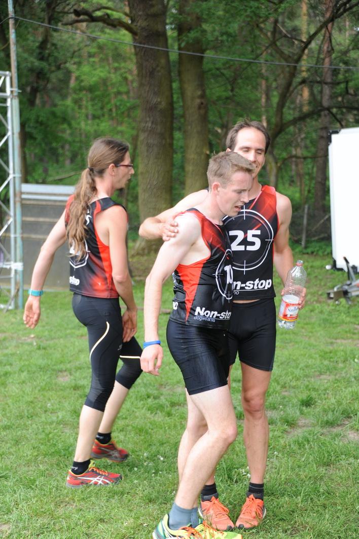 Der Sieger und sein Herausforderer: Lorenz Frech (25) und Elias Becker