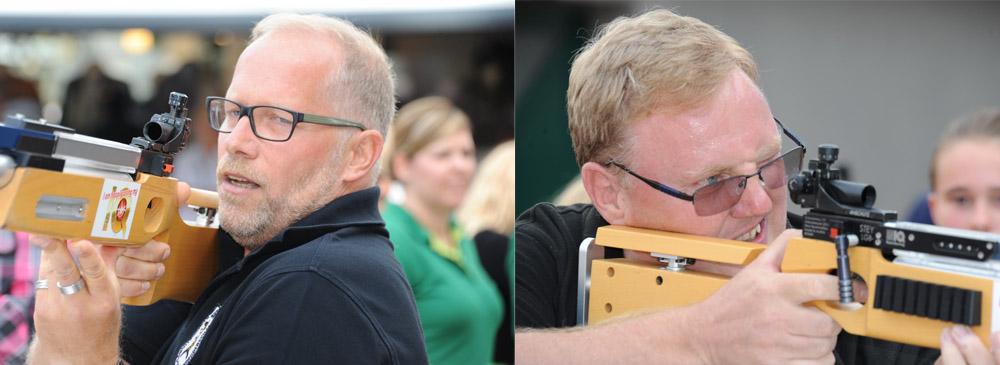 Links: Wolfgang Schiffer und rechts Joachim Wirtz