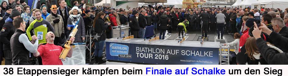 Biathlon Finale auf Schalke 2016